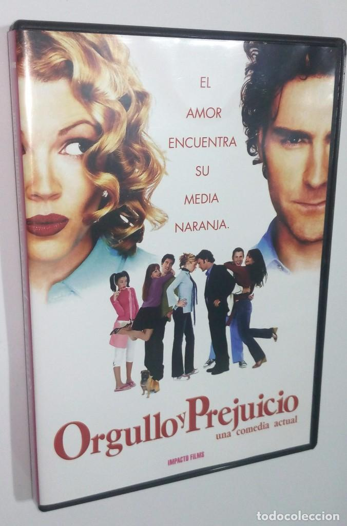 ORGULLO Y PREJUICIO *** EL AMOR ENCUENTRA SU MEDIA NARANJA (Cine - Películas - DVD)