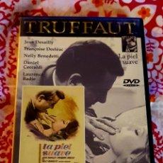Cine: DVD LA PIEL SUAVE. DESCATALOGADO.. Lote 130198203