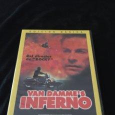 Cine: ( S56 ) VAN DAMME INFERNÓ - VAN DAMME ( DVD SEGUNDA MANO ). Lote 130259823