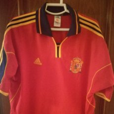 Cine: ESPAÑA SPAIN XL CAMISETA FUTBOL FOOTBALL SHIRT FUSSBALL TRIKOT. Lote 130266002