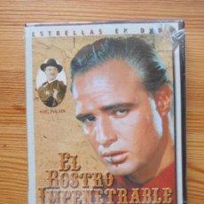 Cine: DVD EL ROSTRO IMPENETRABLE - MARLON BRANDO - NUEVA, PRECINTADA (5F4). Lote 130268354