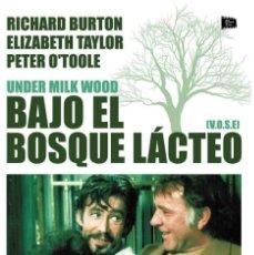 Cine: BAJO EL BOSQUE LÁCTEO (V.O.S.E.) [DVD] RICHARD BURTON (ACTOR), ELIZABETH TAYLOR (ACTOR). Lote 130358178