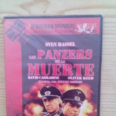 Cine: LOS PANZERS DE LA MUERTE - LA II GUERRA MUNDIAL EN EL CINE DVD. Lote 130414518