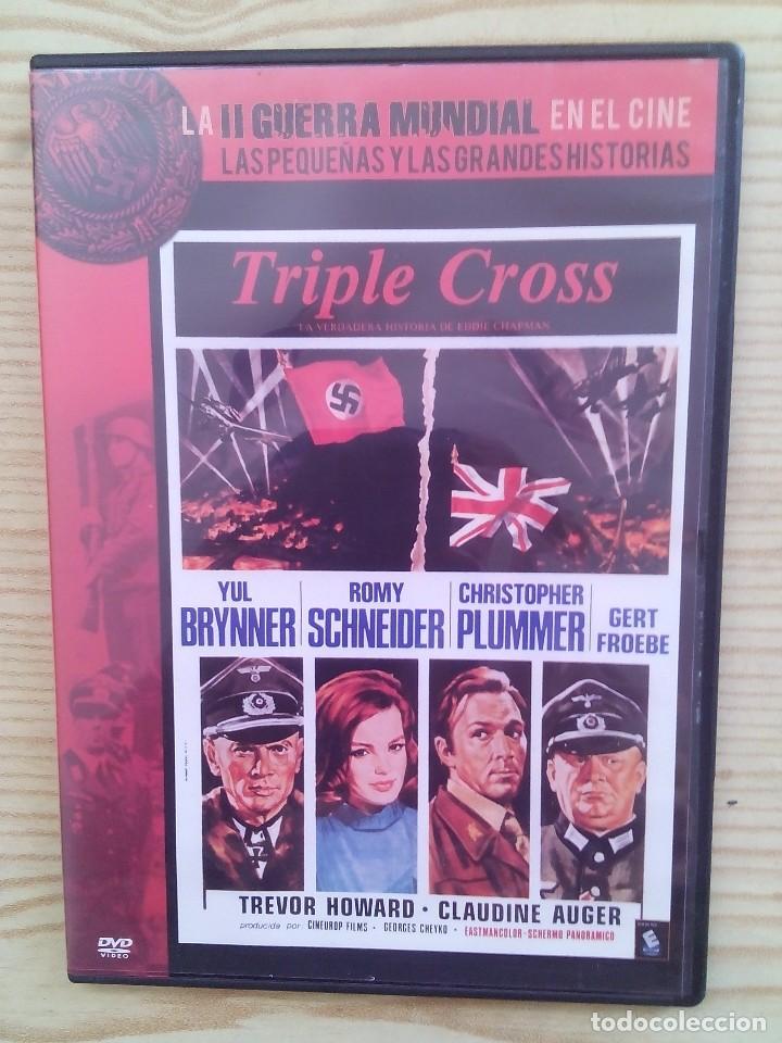 TRIPLE CROSS - LA II GUERRA MUNDIAL EN EL CINE DVD (Cine - Películas - DVD)