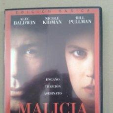 Cine: MALICIA. ALEX BALDWIN. Lote 130524714