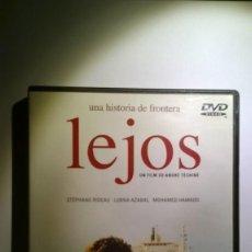 Cine: LEJOS ANDRE TECHINE DVD. Lote 130524938