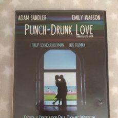 Cine: DVD. PUNCH-DRUNK LOVE. EMBRIAGADO DE AMOR. 2 DVDS. DESCATALOGADO. PELÍCULA DE CULTO DE TH. ANDERSON.. Lote 130545791