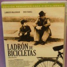 Cine: EL LADRÓN DE BICICLETAS - VITTORIO DE SICA - DVD - EDICIÓN DE 2 DISCOS.. Lote 130553742