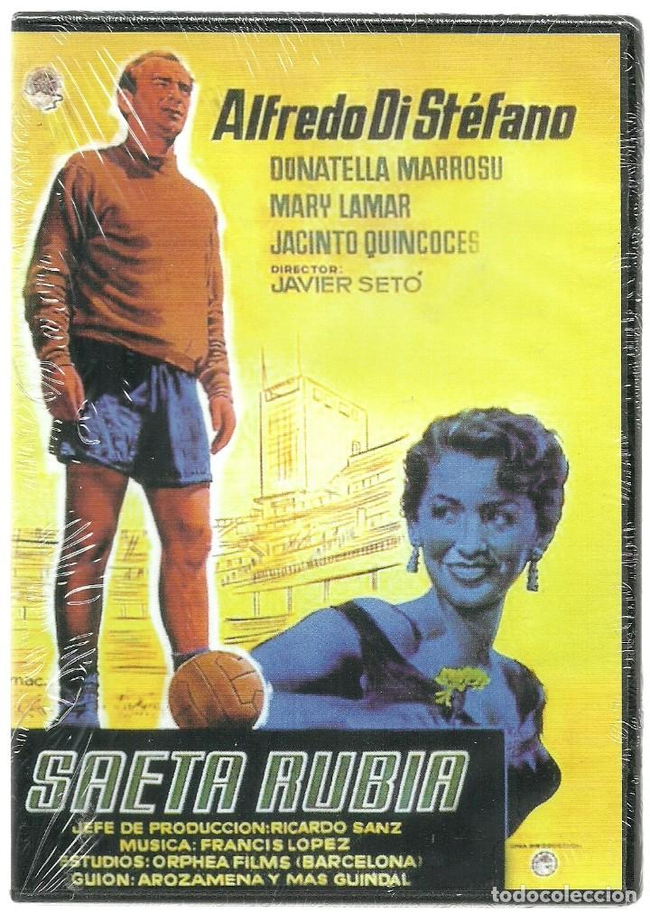 DVD CINE - SAETA RUBIA - ALFREDO DI STEFANO (Cine - Películas - DVD)
