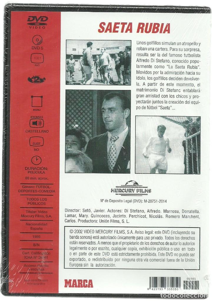Cine: DVD CINE - SAETA RUBIA - ALFREDO DI STEFANO - Foto 2 - 130606374