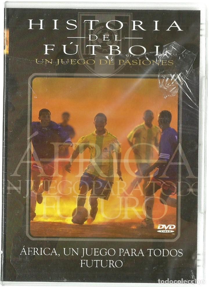 DVD CINE - HISTORIA DEL FUTBOL - AFRICA, UN JUEGO PARA TODOS (Cine - Películas - DVD)