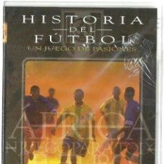 Cine: DVD CINE - HISTORIA DEL FUTBOL - AFRICA, UN JUEGO PARA TODOS. Lote 130606402