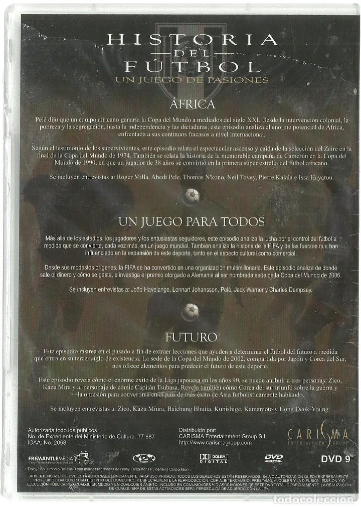 Cine: DVD CINE - HISTORIA DEL FUTBOL - AFRICA, UN JUEGO PARA TODOS - Foto 2 - 130606402