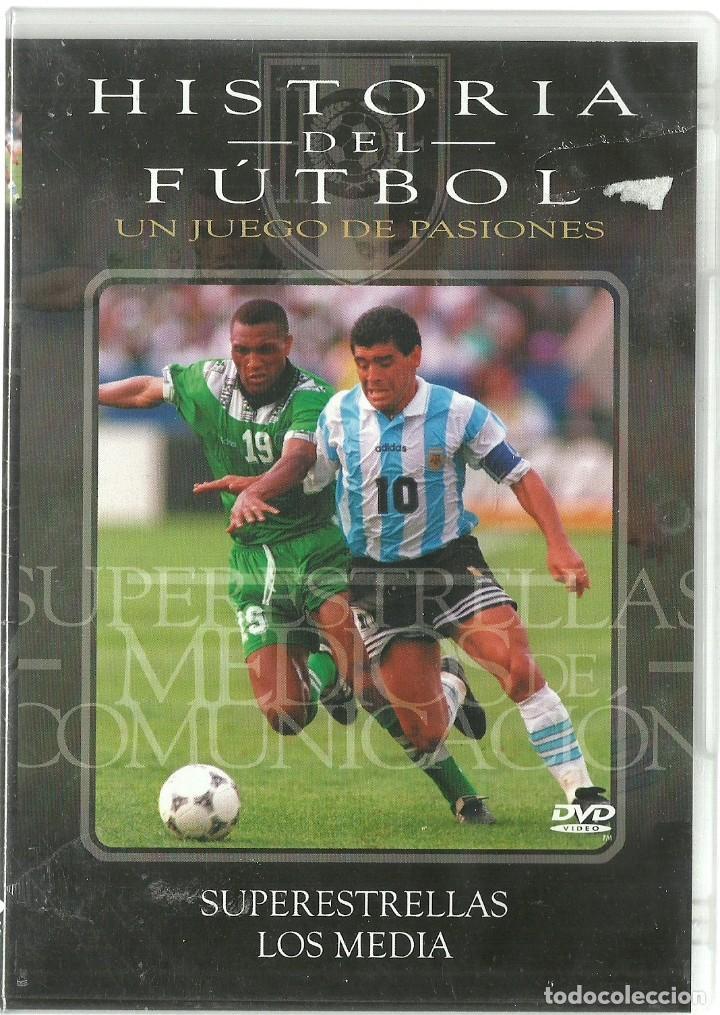 DVD CINE - HISTORIA DEL FUTBOL, SUPERESTRELLAS - LOS MEDIA (Cine - Películas - DVD)