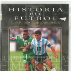 Cine: DVD CINE - HISTORIA DEL FUTBOL, SUPERESTRELLAS - LOS MEDIA . Lote 130606434