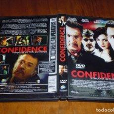 Cine: CONFIDENCE . DVD - PEDIDO MINIMO 6 EUROS. Lote 130608798