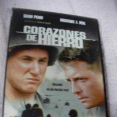 Cine: PELICULA DVD - CORAZONES DE HIERRO - ENVIO INCLUIDO A ESPAÑA. Lote 130629894