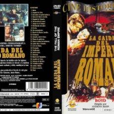 Cine: DVD LA CAÍDA DEL IMPERIO ROMANO. Lote 130645633