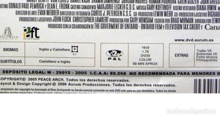 Cine: SECRETO DE CONFESIÓN DVD PELÍCULA SUSPENSE CRIMEN CHRISTIAN SLATER PARKER CURA PERIODISTA IGLESIA EX - Foto 3 - 130702809