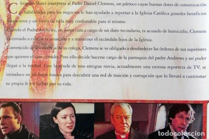 Cine: SECRETO DE CONFESIÓN DVD PELÍCULA SUSPENSE CRIMEN CHRISTIAN SLATER PARKER CURA PERIODISTA IGLESIA EX - Foto 2 - 130702809