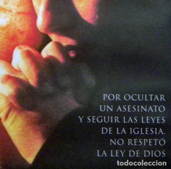 Cine: SECRETO DE CONFESIÓN DVD PELÍCULA SUSPENSE CRIMEN CHRISTIAN SLATER PARKER CURA PERIODISTA IGLESIA EX - Foto 4 - 130702809