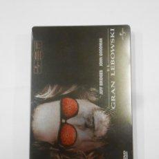 Cine: EL GRAN LEBOWSKI. JEFF BRIDGES. EDICIÓN COLECCIONISTA EN ESTUCHE METÁLICO. DVD. TDKV19. Lote 130714054