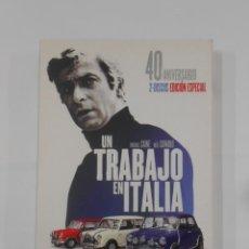 Cine: UN TRABAJO EN ITALIA. MICHAEL CAINE. 40 ANIVERSARIO EDICIÓN ESPECIAL. 2 DISCOS. DVD. TDKV19. Lote 130715054