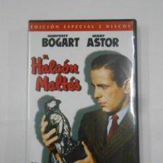 Cine: EL HALCON MALTES. EDICION ESPECIAL 2 DISCOS. HUMPHREY BOGART. MARY ASTOR. DVD. TDKV7. Lote 130721529