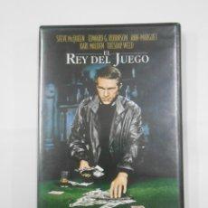 Cine: EL REY DEL JUEGO. STEVE MCQUEEN EDWARD G. ROBINSON. DVD. TDKV7. Lote 130721979