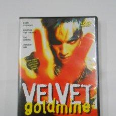 Cine: VELVET GOLDMINE. TODD HAYNES. EWAN MCGREGOR. JONATHAN RHYS MEYERS. DVD. TDKV7. Lote 130722459