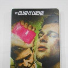 Cine: EL CLUB DE LA LUCHA BRAD PITT (ESTUCHE METÁLICO 2 DISCOS). DVD. TDKV7. Lote 130722594
