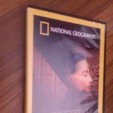 Cinema: NEFERTITI. Y LA DINASTIA PERDIDA DOCUMENTAL NATIONAL GEOGRAPHIC. DVD EN BUEN ESTADO. . Lote 130796504