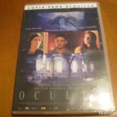 Cine: OCULTO ( DVD ) . Lote 130809932