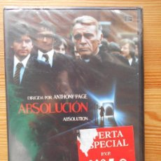 Cine: DVD ABSOLUCION - ABSOLUTION - RICHARD BURTON - NUEVA, PRECINTADA (CZ). Lote 130845112