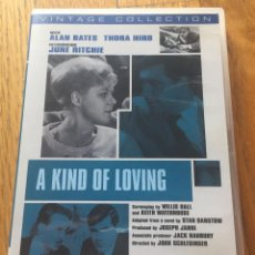 Cine: A KIND OF LOVING, ALAN BATES, THORA HIRD IMPORTACION. Lote 130932952