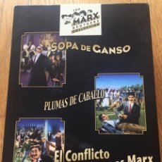 Cine: THE MARX BROTHERS COLLECTION, LOS HERMANOS MARX COLECCION, 3 DVDS. Lote 130933112