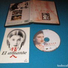 Cine: EL AMANTE - DVD - FILMAX HOME VIDEO - UN FILM DE JEAN-JACQUES ANNAUD - JANE MARCH - TONY LEUNG. Lote 130933896