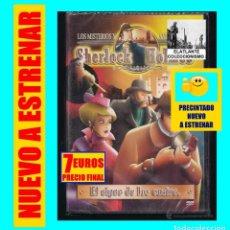 Cine: LOS MISTERIOS Y AVENTURAS DE SHERLOCK HOLMES - EL SIGNO DE LOS CUATRO - 2005 - NUEVO. Lote 130970892