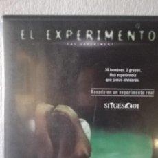 Cine: EL EXPERIMENTO DAS EXPERIMENT DVD. Lote 130983536