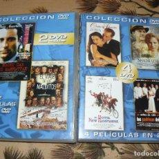 Cine: 6 PELICULAS EN DVD. Lote 130998032