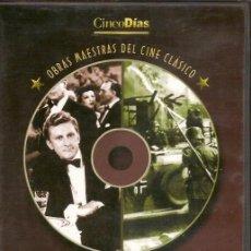 Cine: 2 PELICULAS EN DVD - CLASICOS DE CINE. Lote 130998384