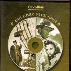 Cine: 2 PELICULAS EN DVD - CLASICOS DE CINE. Lote 130998604