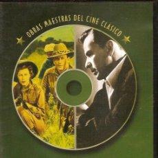 Cine: 2 PELICULAS EN DVD - CLASICOS DE CINE. Lote 130998632