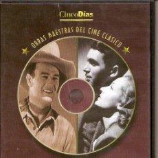 Cine: 2 PELICULAS EN DVD - CLASICOS DE CINE. Lote 130998660
