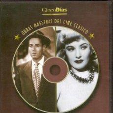 Cine: 2 PELICULAS EN DVD - CLASICOS DE CINE. Lote 130998716