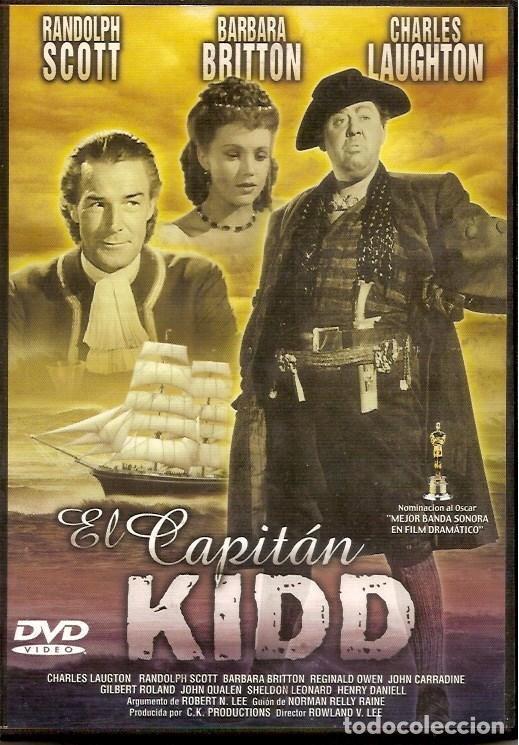1 PELICULA EN DVD - CLASICOS DE CINE -EL CAPITAN KIDD (Cine - Películas - DVD)
