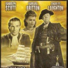 Cine: 1 PELICULA EN DVD - CLASICOS DE CINE -EL CAPITAN KIDD. Lote 130999236