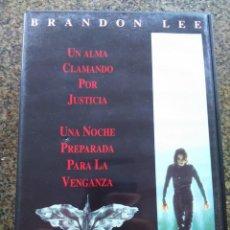Cine: DVD -- EL CUERVO -- BRANDO LEE -- . Lote 131032316