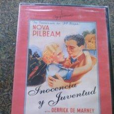 Cine: DVD -- INOCENCIA Y JUVENTUD -- ALFRED HITCHCOCK -- PRECINTADA --. Lote 131032452