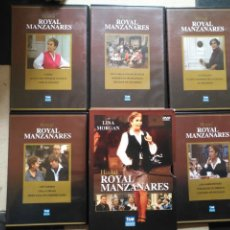 Cine: SERIE TV HOSTAL ROYAL MANZANARES - LINA MORGAN CON 5 DVD EN CAJA - ORIGINAL BUEN ESTADO. Lote 131082864